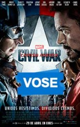 Capitán América: Civil War (VOSE)