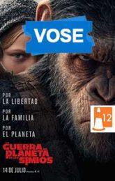 La guerra del planeta de los simios (VOSE)