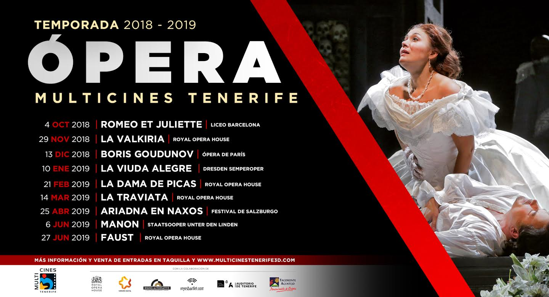 Opera Tenerife 2018 2019