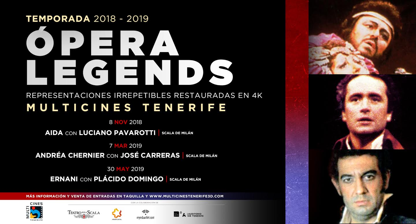 opera Legends Tenerife 2018 2019