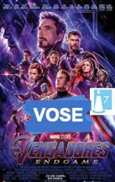 Vengadores: Endgame (VOSE)