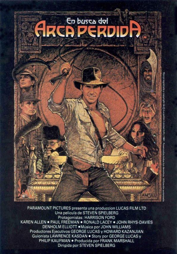 Indiana Jones en busca del arca perdida tenerife