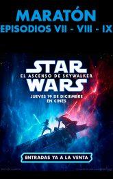 Maratón Star Wars VII - VIII - IX