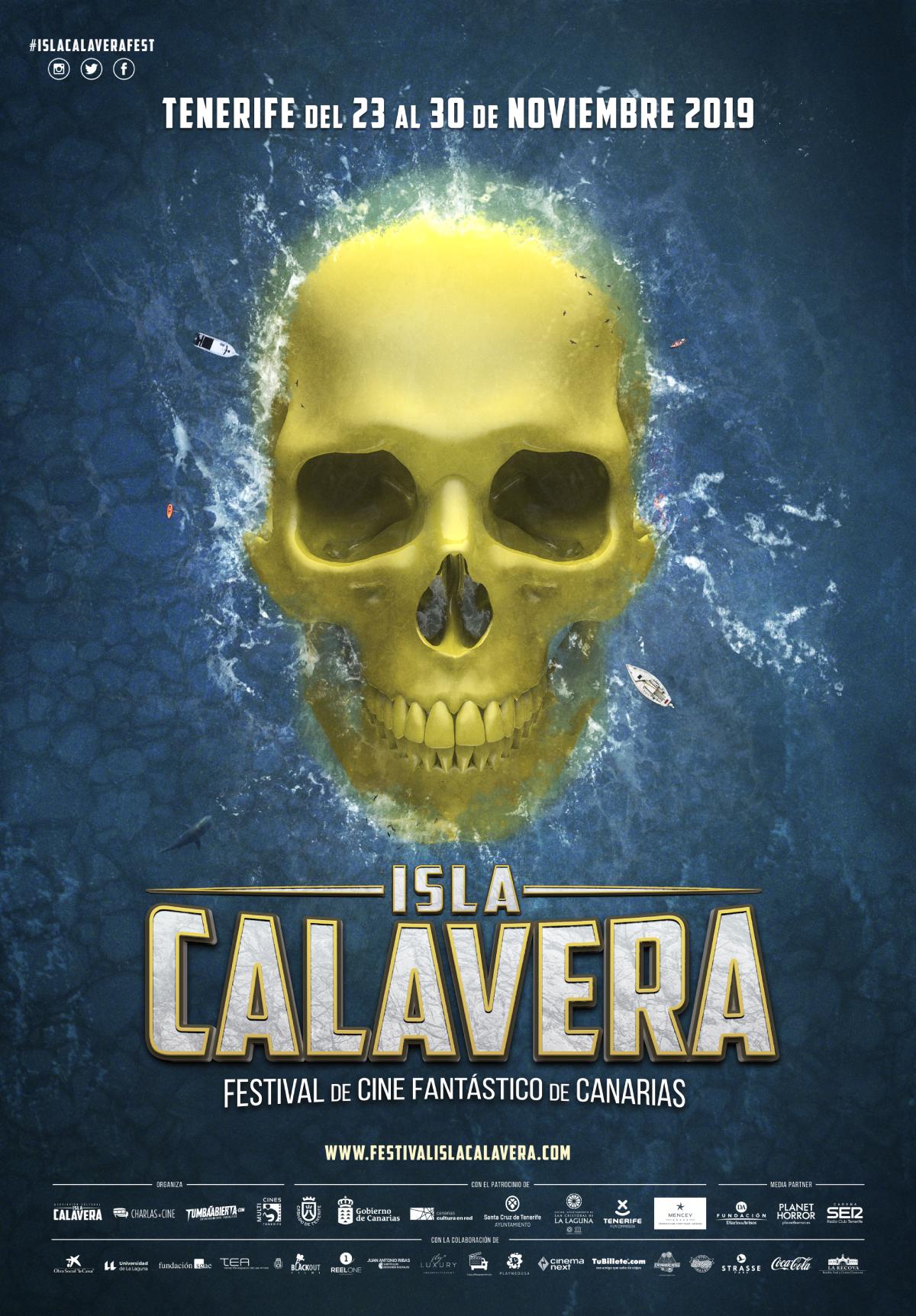 Cartel Isla Calavera 2019