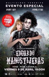 Charlas de Cine: Eduardo Manostijeras (VOSE)