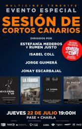 SESIÓN DE CORTOS CANARIOS